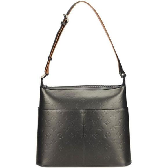 Louis Vuitton Handbags - Louis Vuitton Grey Monogram Mat Vernis sutter bag